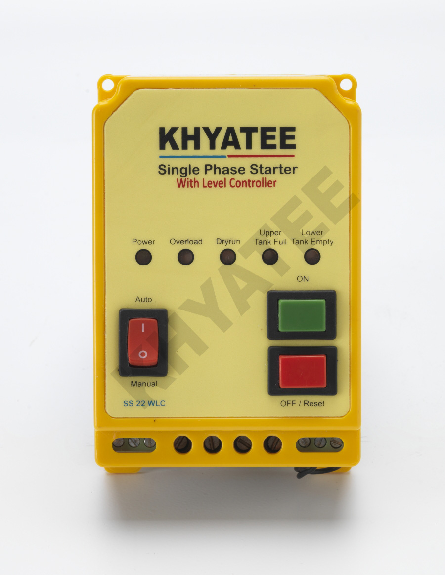 Single Phase Auto Starter Wlc Unit  U2013 Khyatee Electronics